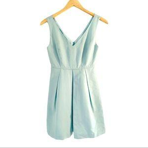 J. CREW Kami Classic Faille dress in Seaspray